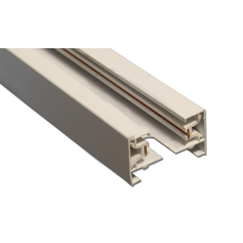 LED 1-fasse rails 150 cm wit - rail