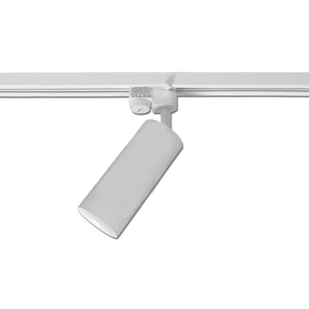 1-fase rails railspot wit - GU10 fitting - spot