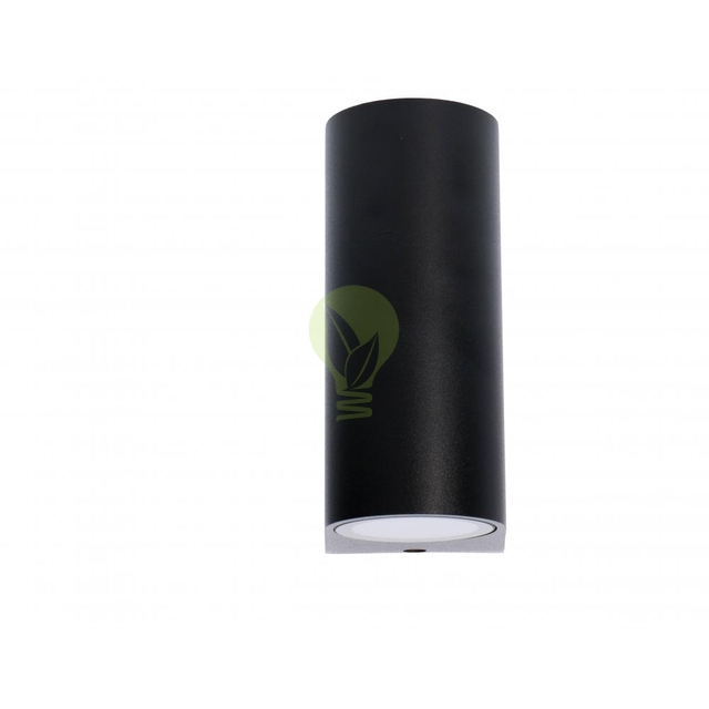 LED Wandlamp voor buiten Up & Down zwart 2x GU10 fitting