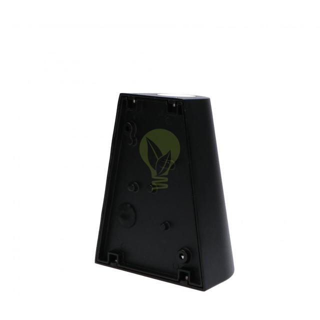 LED Wandlamp 2x GU10 fitting voor GU10 spots zwart - achterkant