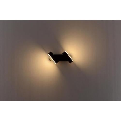 Kantelbare buiten wandlamp 13W warm wit