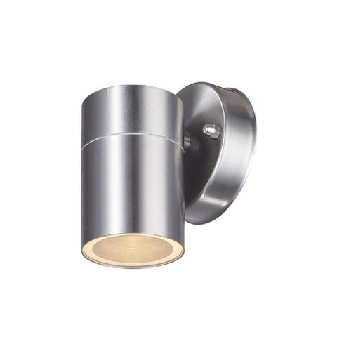 Wandlamp buiten GU10 aluminium stockholm - zijaanzicht