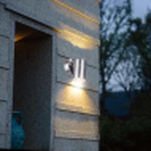 Wandlamp buiten GU10 aluminium stockholm - sfeerfoto