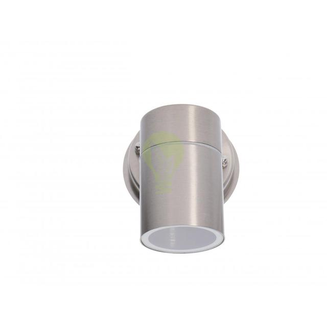 Wandlamp buiten GU10 aluminium stockholm - voorkant
