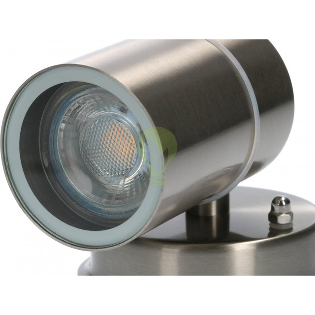 Wandlamp buiten GU10 aluminium stockholm - onderkant