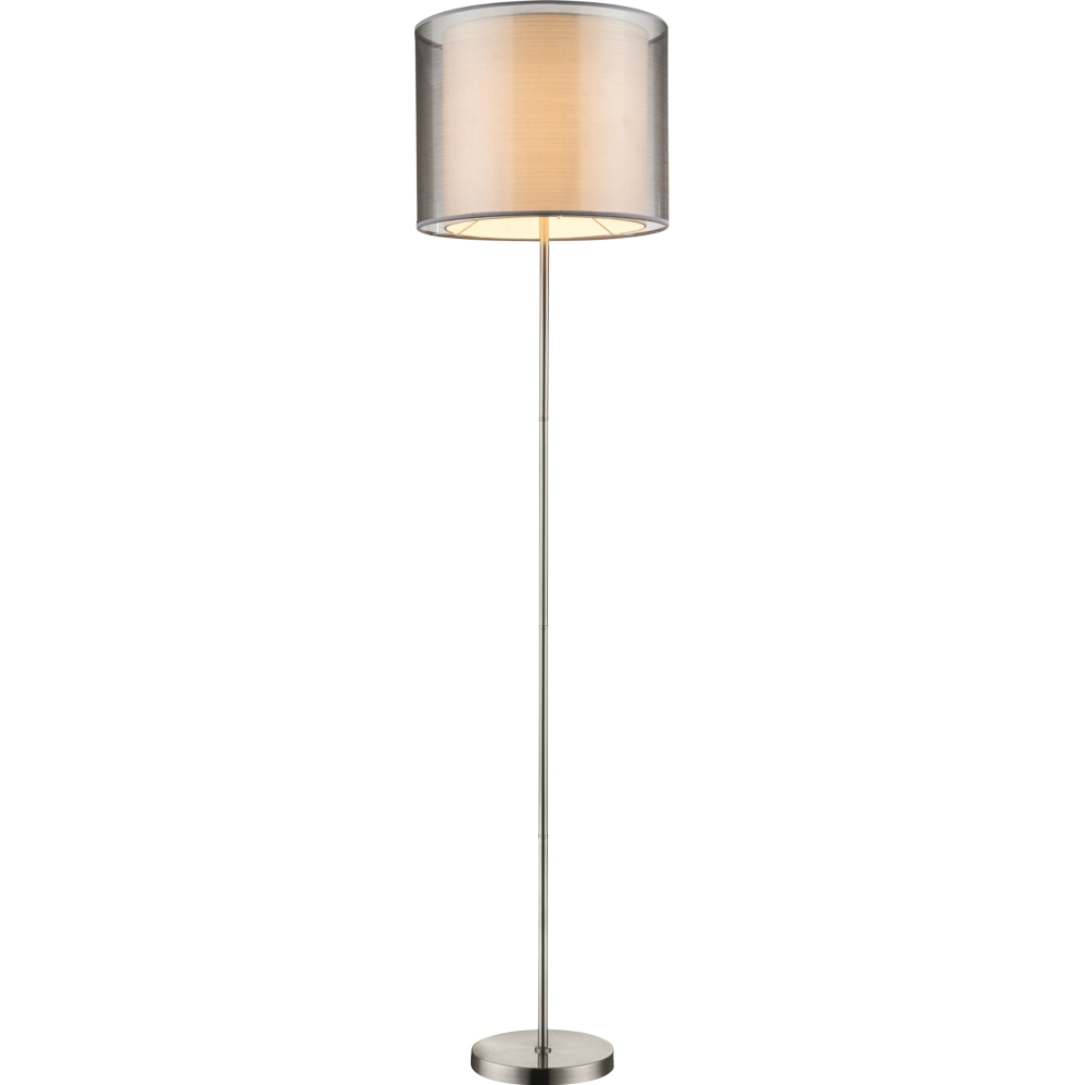 LED vloerlamp 160 cm hoog E27 fitting - vooraanzicht