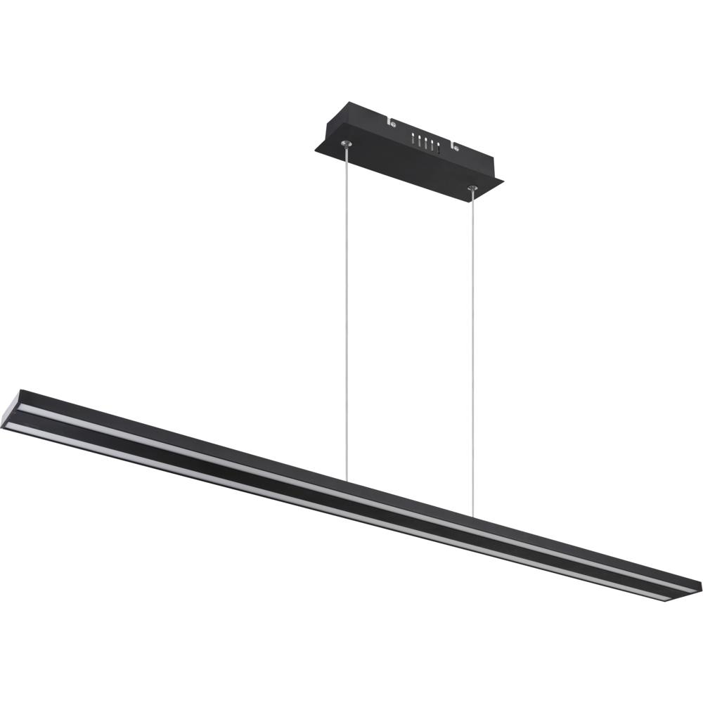 kantoorlamp hanglamp lineair geïntegreerde lamp - zijaanzicht lamp uit