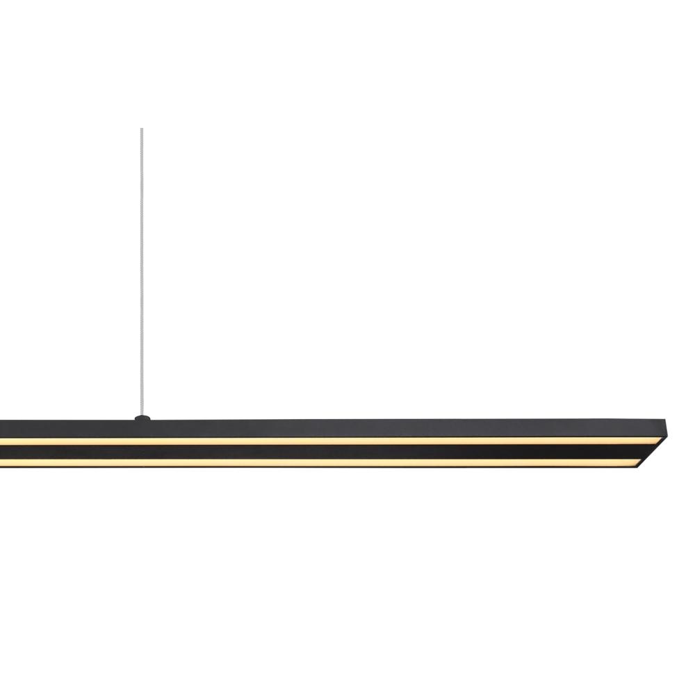 kantoorlamp hanglamp lineair geïntegreerde lamp - closeup