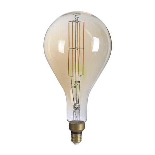LED filament dimbare lamp XXL 8 Watt grote fitting E27 1800K Extra warm wit - dimbare lamp