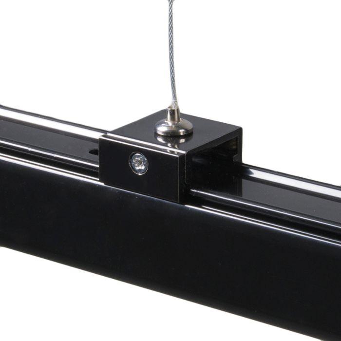pendelset voor 3-fase rails zwart - voorbeeld