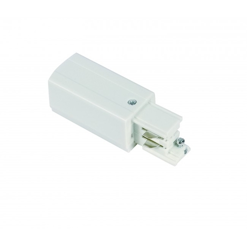 Powerconnector - voedingsconnector 3-fase rails wit