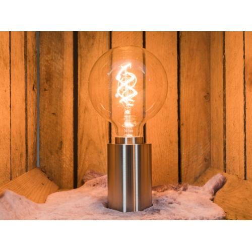 LED Filament Globe lamp dimbaar 5 Watt G125 2200K Extra warm wit - sfeerfoto inrichting