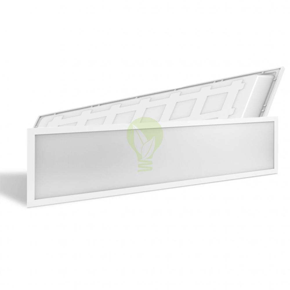 backlight led paneel 120x30cm - voor en achterkant