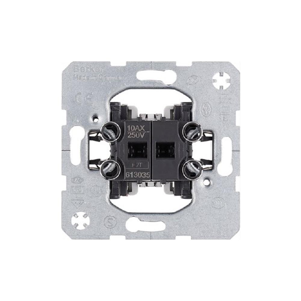 LED serieschakelaar enkel inbouw Berker