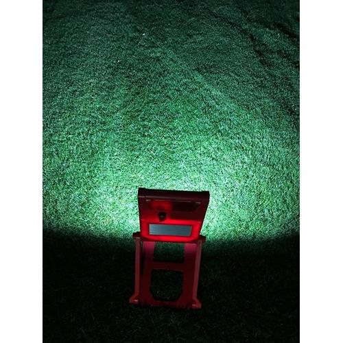 led bouwlamp 20W op accu inklapbaar - voorbeeld