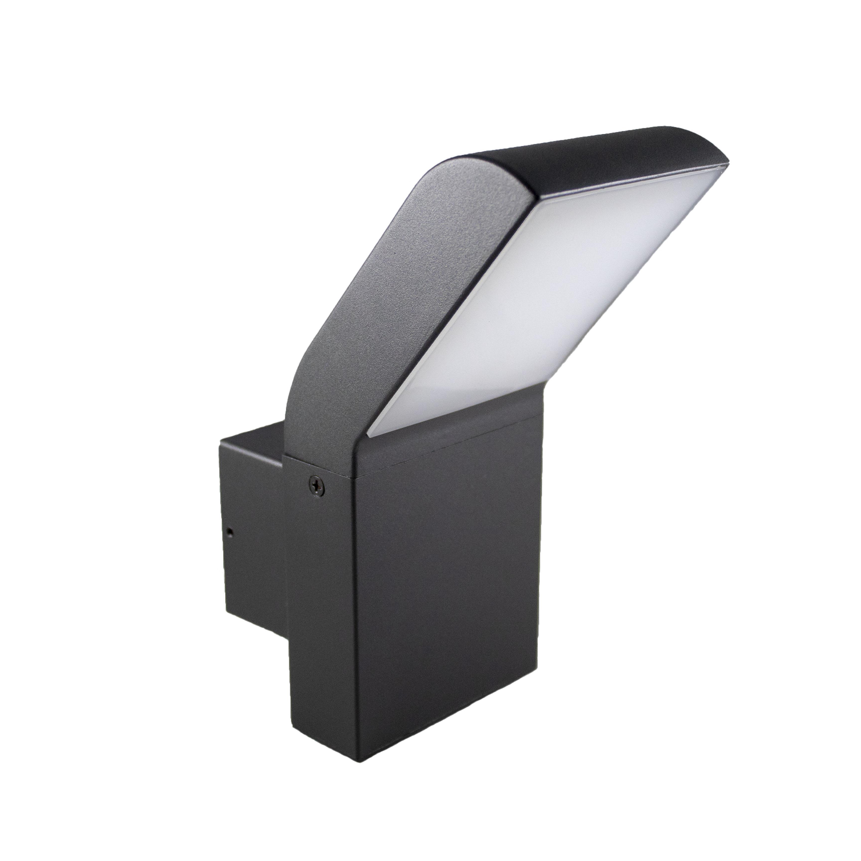 Wandlamp buiten 12 watt 4000K - naturel wit - zijaanzicht