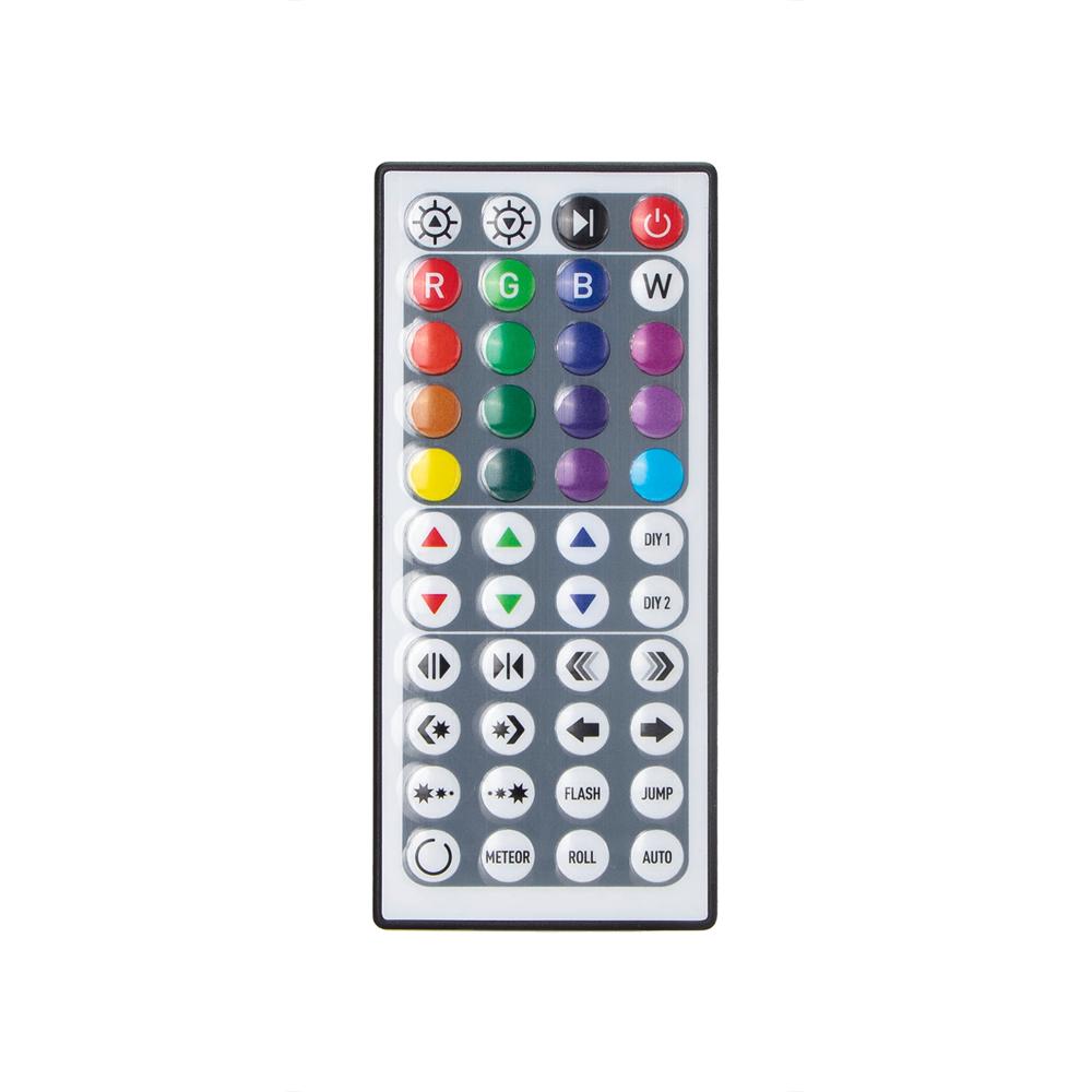 Digitale RGB LED Strip 5 meter inclusief afstandsbediening en adapter - afstandsbediening