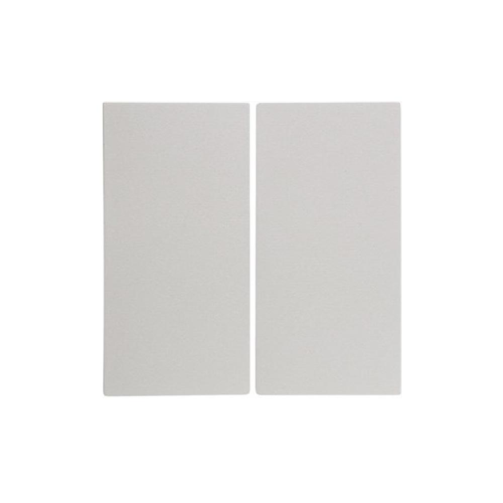 Dubbele schakelaar wit serie berker