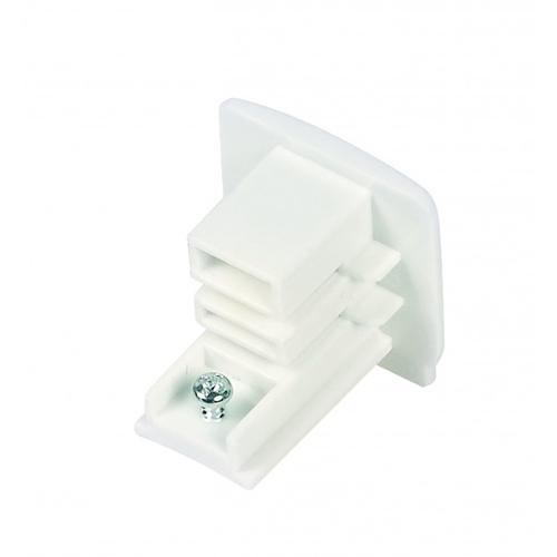 Witte endcap eindkapje voor 3-fase rails