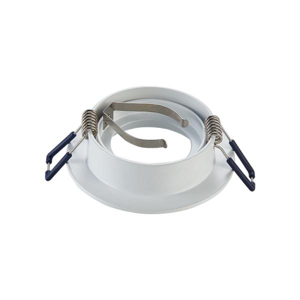 inbouw spot armatuur achterkant - zaagmaat 68 mm- doorsnee 85 mm - wit- rond