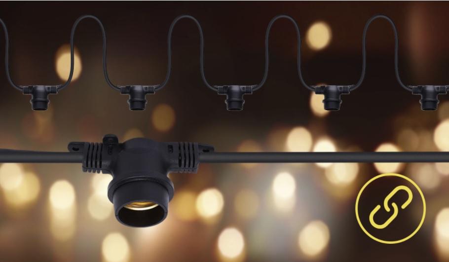 Feestverlichting - prikkabel - 6.5 meter - sfeerfoto 2