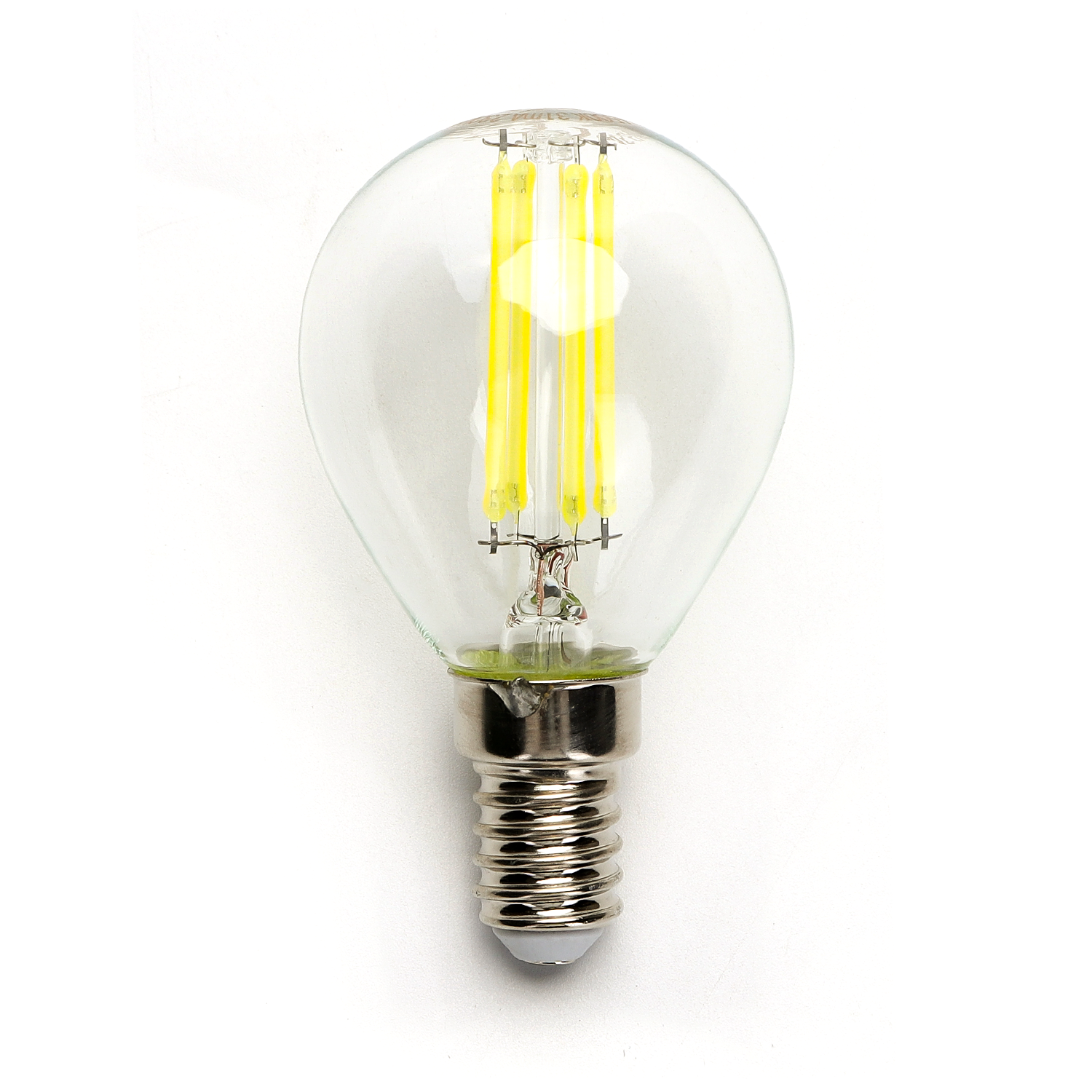 Filament LED Lamp 4 Watt kleine fitting E14 G45 4500K Naturel wit