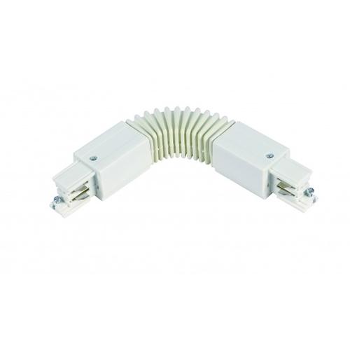 Flexibele hoek connector voor witte 3-fase rails