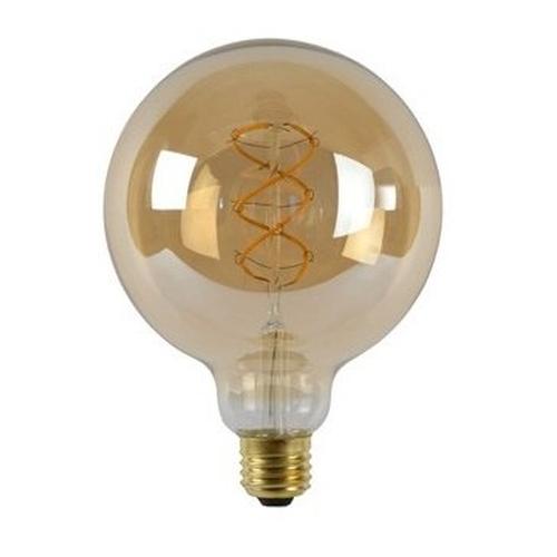LED Filament Globe lamp dimbaar 5 Watt G125 2200K Extra warm wit - lamp