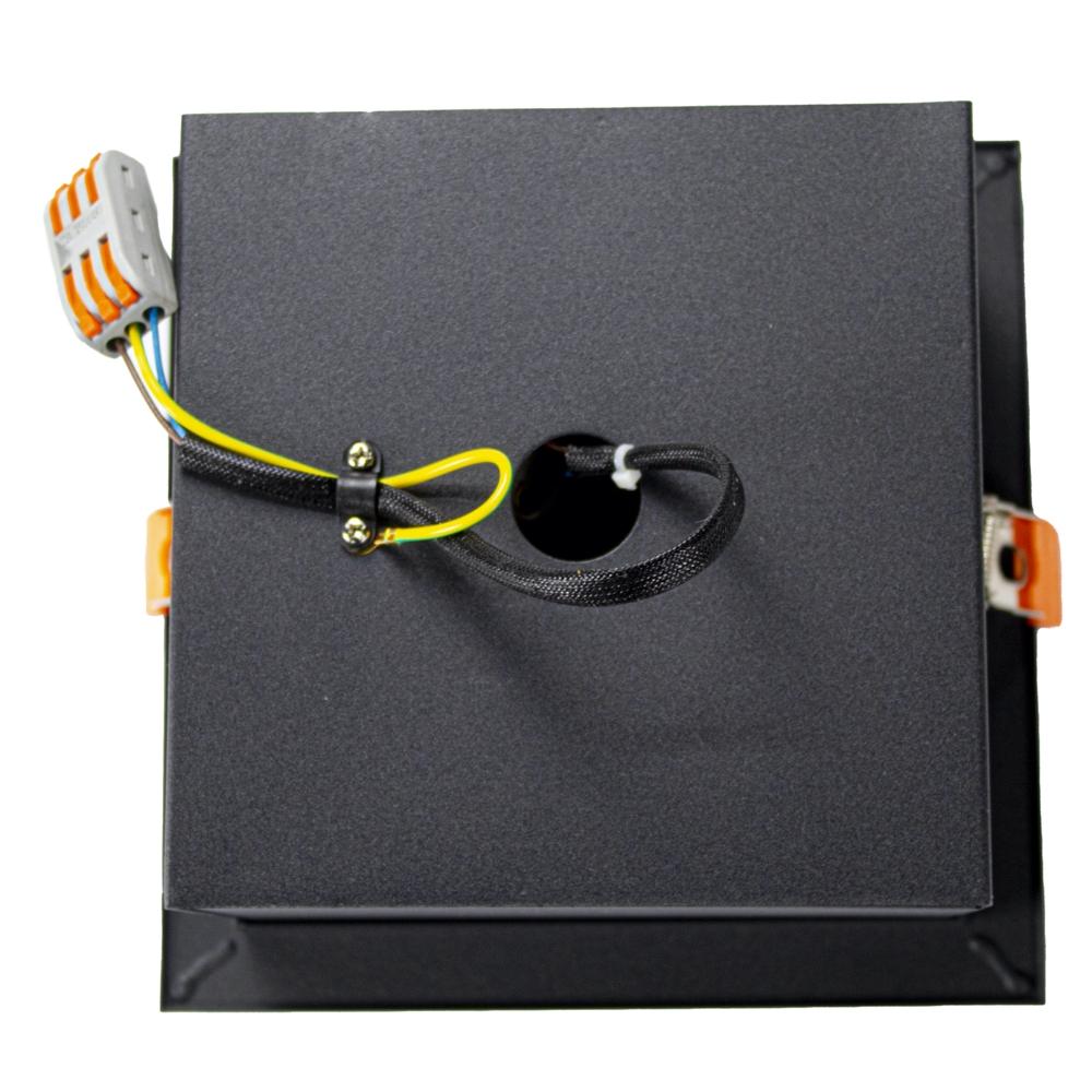 AR111 spot inbouw armatuur - dimbaar - enkel - zwart - kantelbaar