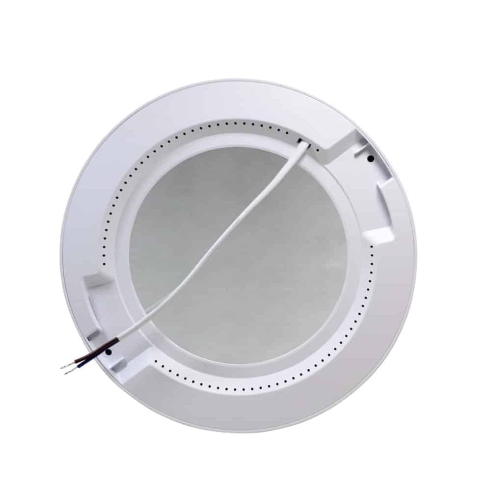Inbouw en opbouw downlight 15 watt - lichtkleur instelbaar - CCT - ronde plafondlamp - achterkant