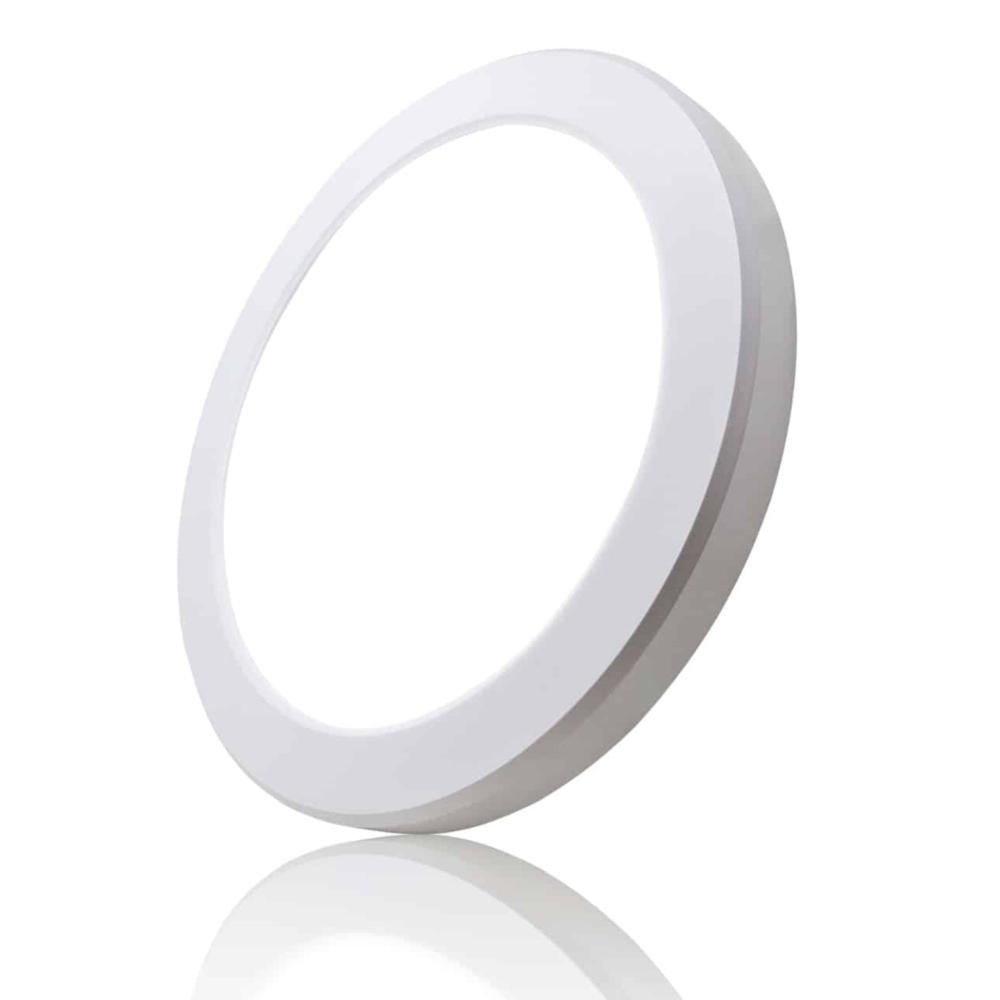 Inbouw en opbouw downlight 15 watt - lichtkleur instelbaar - CCT - ronde plafondlamp - zonder sensor
