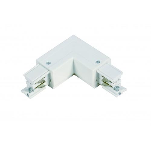 Witte 3-fase L vorm connector