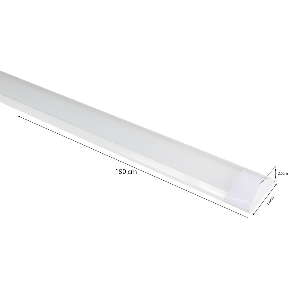 LED batten armaturen 150 centimeter 6500K daglicht wit - afmetingen