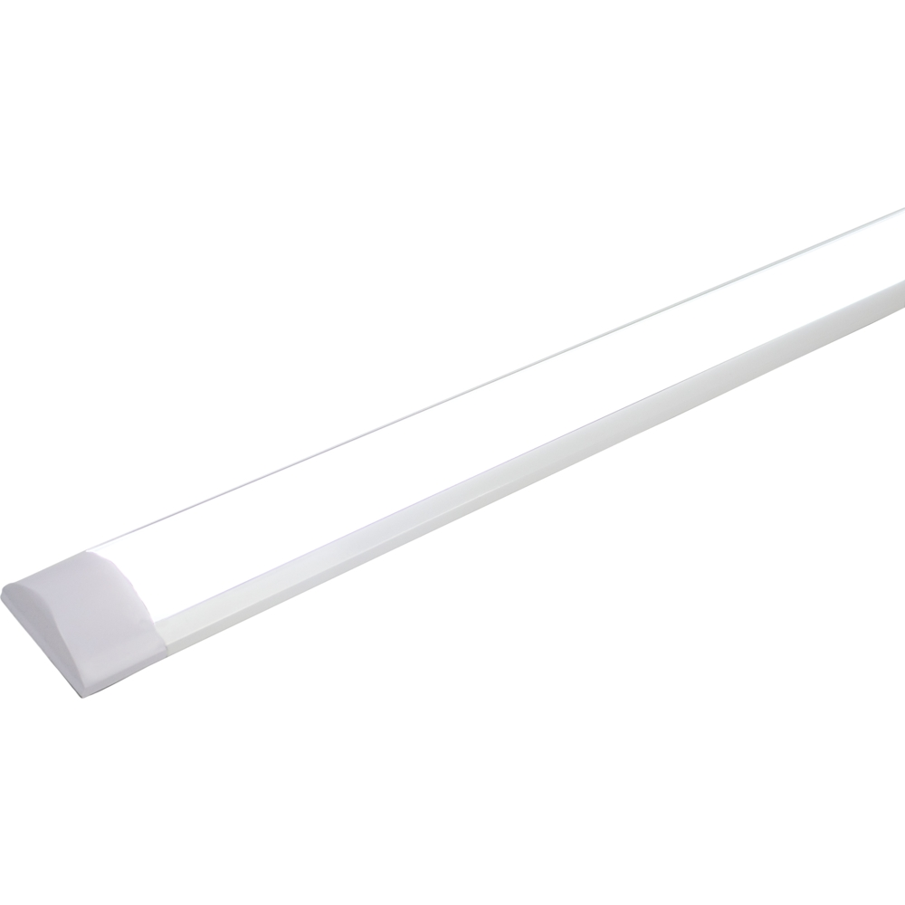 LED batten armaturen 150 centimeter 6500K daglicht wit - lamp aan