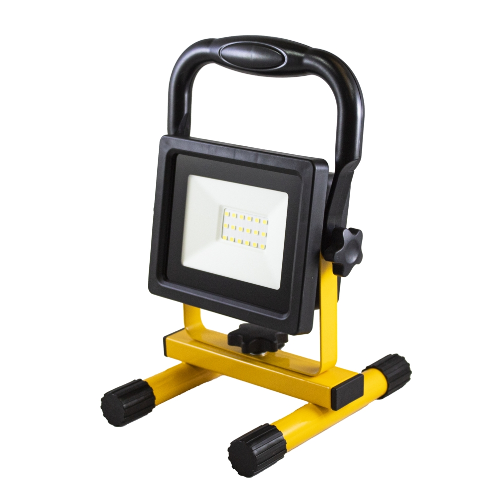 LED Bouwlamp - verstraler - floodlight op accu - 6000K