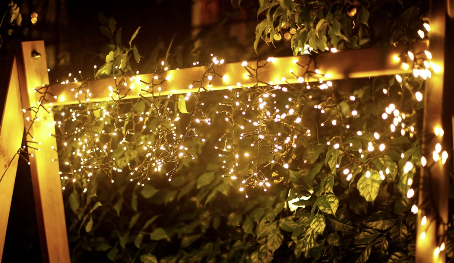 LED Clusterverlichting - Kerstverlichting - lichtslinger 250 Lampjes - warm wit - 10 meter - sfeerfoto