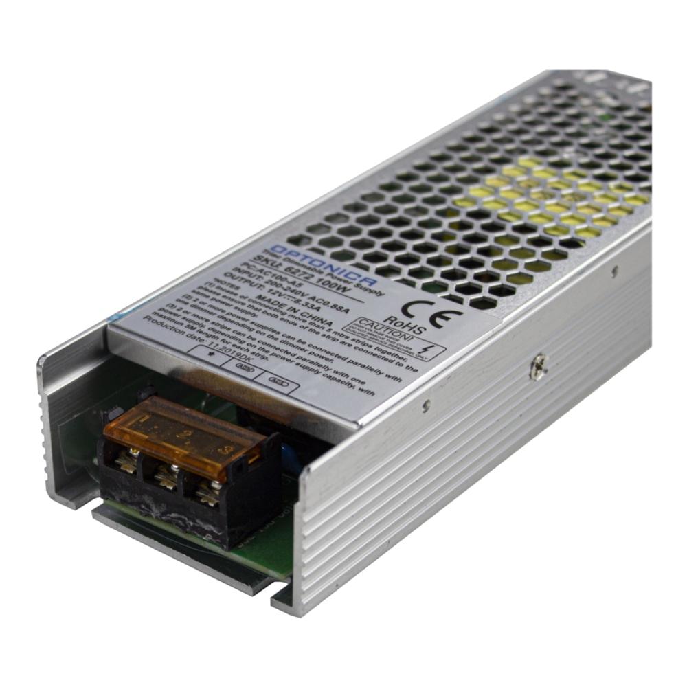 Dimbare transformator 100 Watt 12 volt - aansluiting