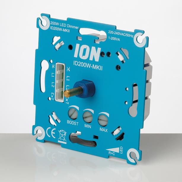 LED Dimmer 200W MK-II (ID200W-MK-II) zijkant-1