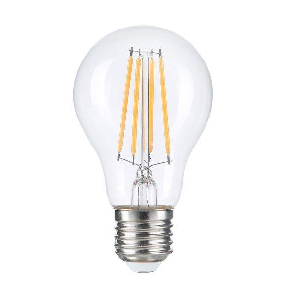 LED E27 Gloeilamp - filament lamp - vintage - 8 watt - dimbaar - 2700K warm wit