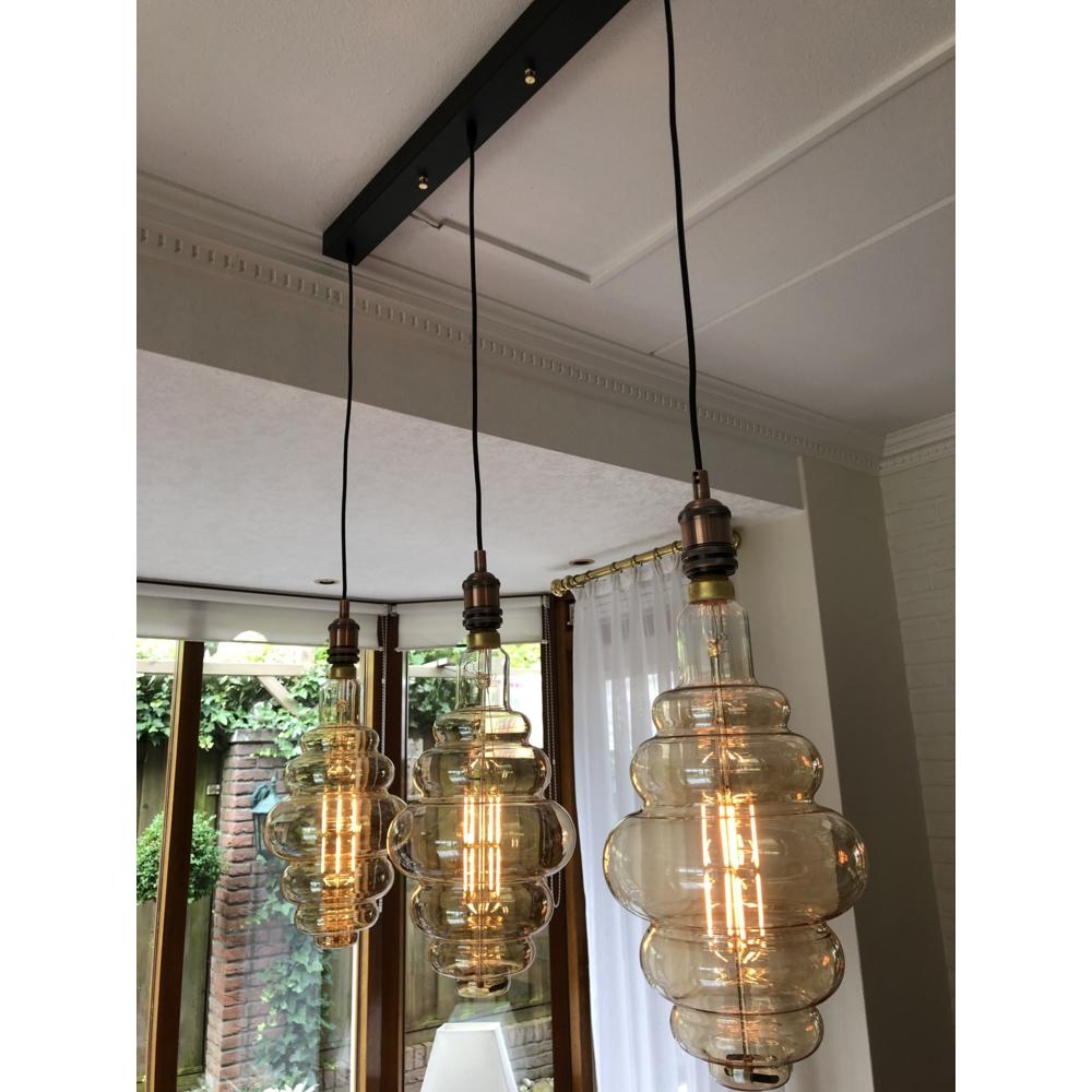 LED Filament lamp XXL hanglamp - 3 dubbel