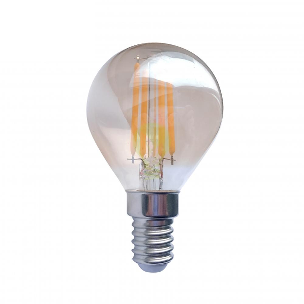 1,6Watt amber filament bollamp