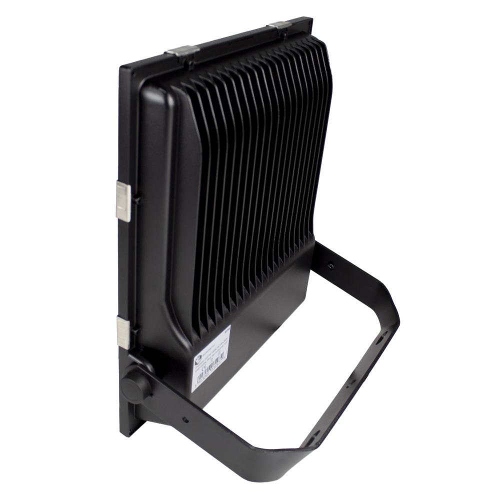 LED Floodlight - Bouwlamp - 100 watt - dimbaar - 5000K daglicht - zwart - achteraanzicht