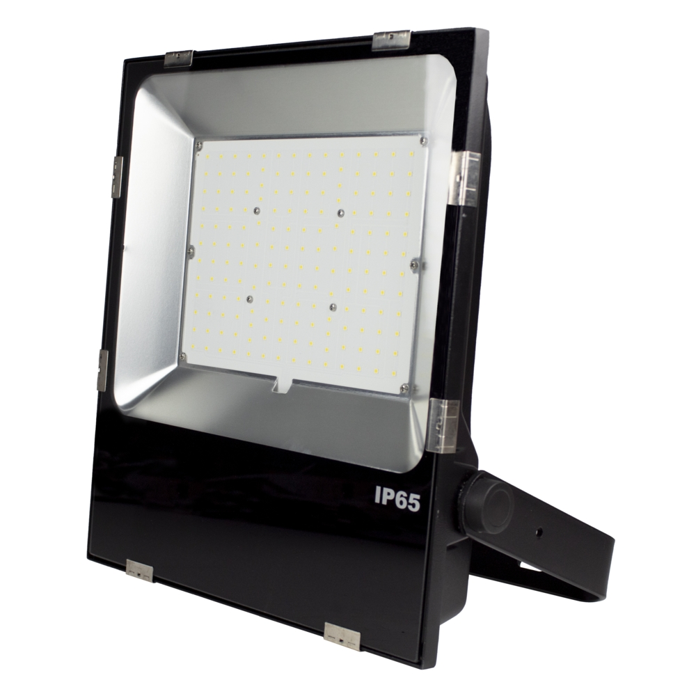 LED Floodlight - Bouwlamp - 100 watt - dimbaar - 5000K daglicht - zwart - projector - IP65
