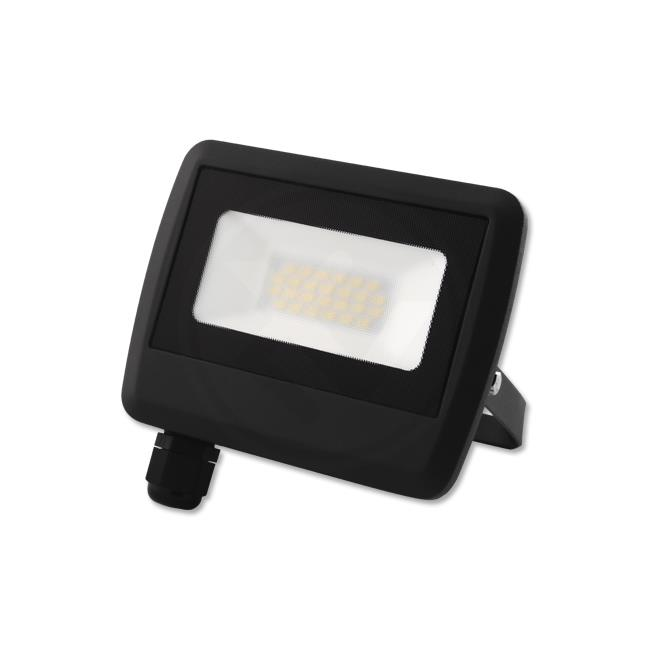 LED Floodlight - Bouwlamp 20 watt - 4500K naturel wit - zonder kabel - verstraler 20W