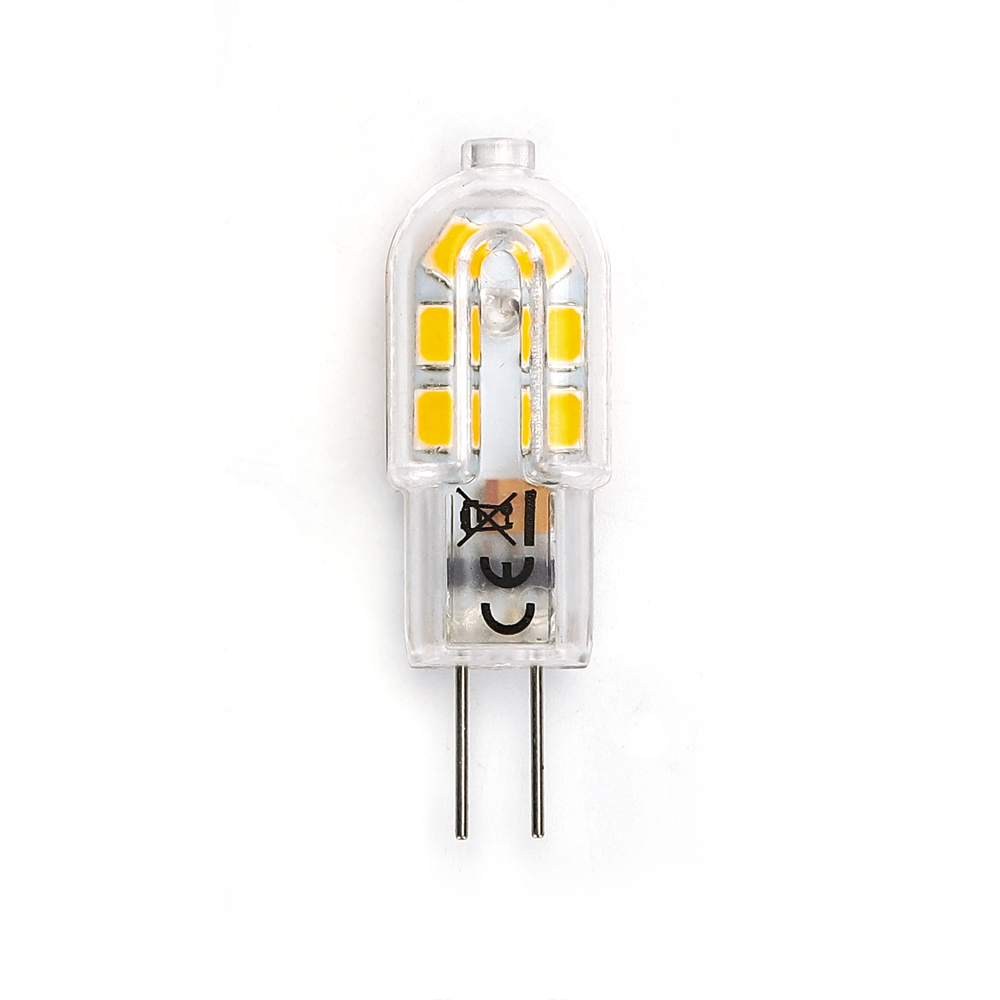LED G4 Spot 12 volt 1,5 Watt 3000K - vooraanzicht