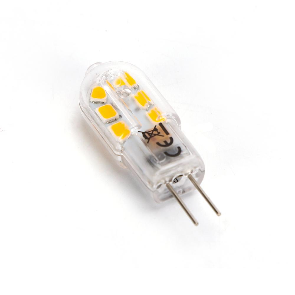LED G4 Spot 12 volt 1,5 Watt 3000K - liggende spot
