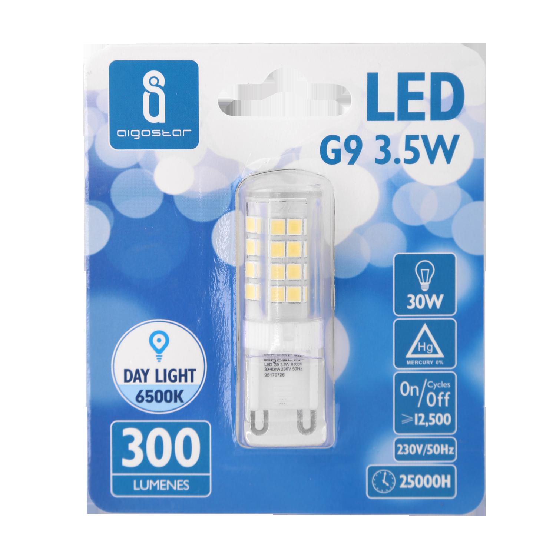LED G9 spot - 3.5 watt - 6500k daglicht - verpakking