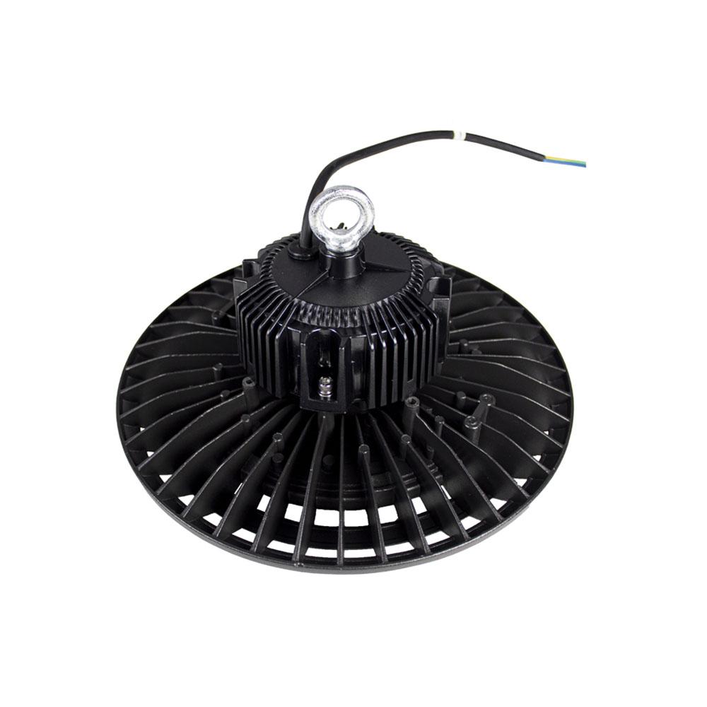 LED High bay inclusief ophangsysteem zwart 100 Watt - bovenkant