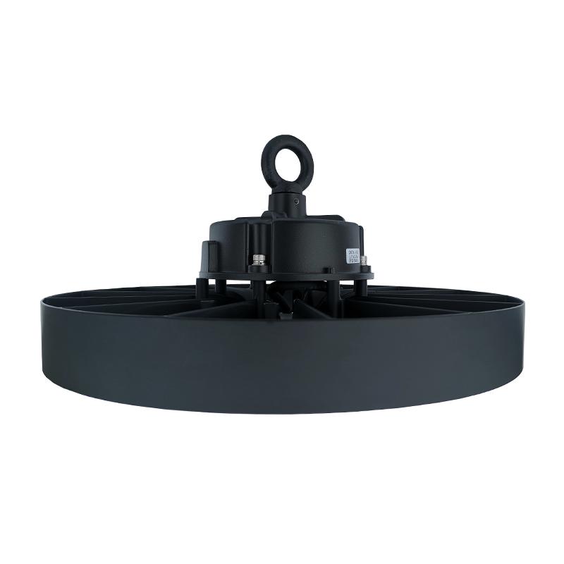 LED Highbay - UFO lamp - Magazijnlamp - 100 watt - dimbaar - 6000K daglicht - zijkant