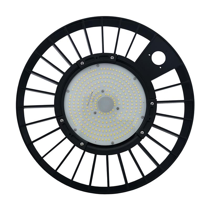 LED Highbay - UFO lamp - Magazijnlamp - 150 watt - dimbaar - 6000K daglicht - onderkant -